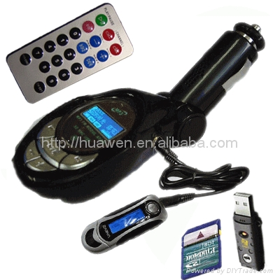 Best quality car mp3 with Audio cable  1