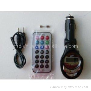 Best quality car mp3 with Audio cable  2