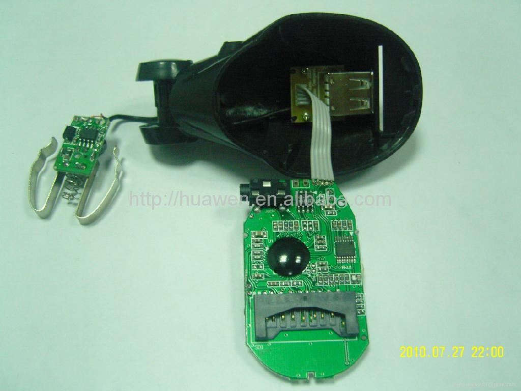 Best quality car mp3 with Audio cable  4