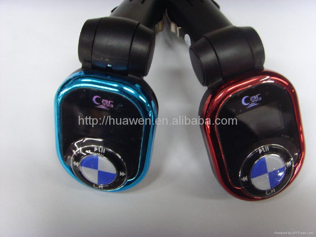 Best quality car mp3 with Audio cable  5