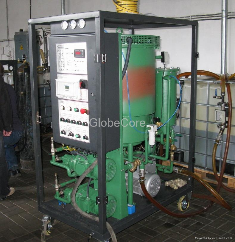 Transformer oil purification plant 4