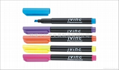 Highlighter Marker or Fluorescent Marker Pen