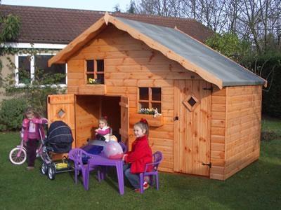 kids playhouse prefabricated house  1