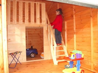 kids playhouse prefabricated house  2