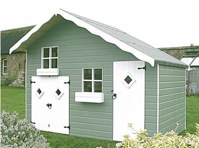kids playhouse prefabricated house  3