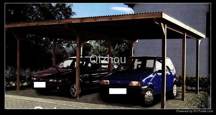 wooden garage 3