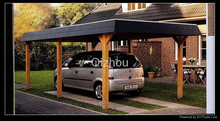 wooden garage 4
