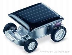 Solar energy compact car