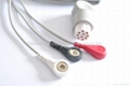 Datex one piece fixed ECG Cable