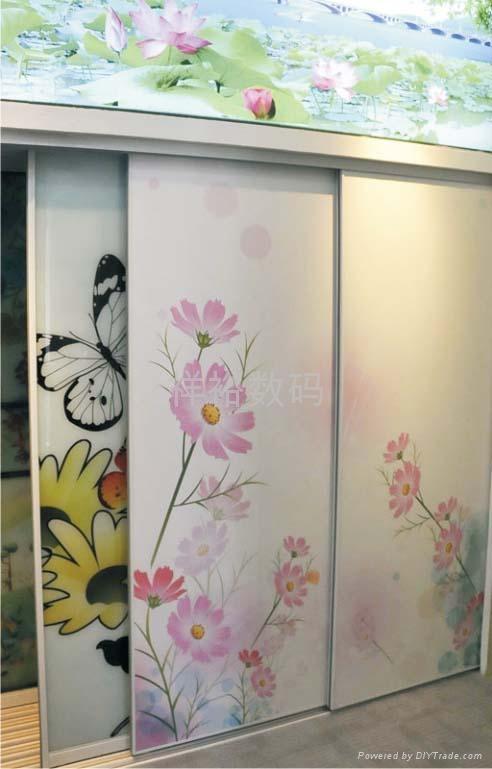工藝玻璃直噴數碼彩印機 4