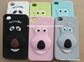 Personalized Silicone Cover For iPhone 5 and 4/4s Smart Case