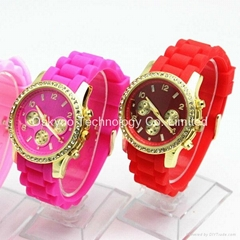 Customized Ladies Michael Kors MK Silicone Watch with Diamond  (Hot Product - 1*)