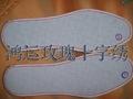 十字绣鞋垫蓝玫瑰系列 2