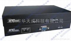 2芯VGA视频光端机
