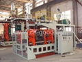 50Liter auto PE blow moulding machine