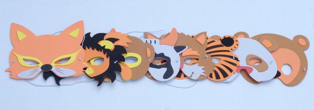 EVA動物玩具面具  2