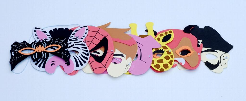 EVA動物玩具面具  4