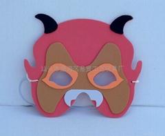卡通万圣节晚面具