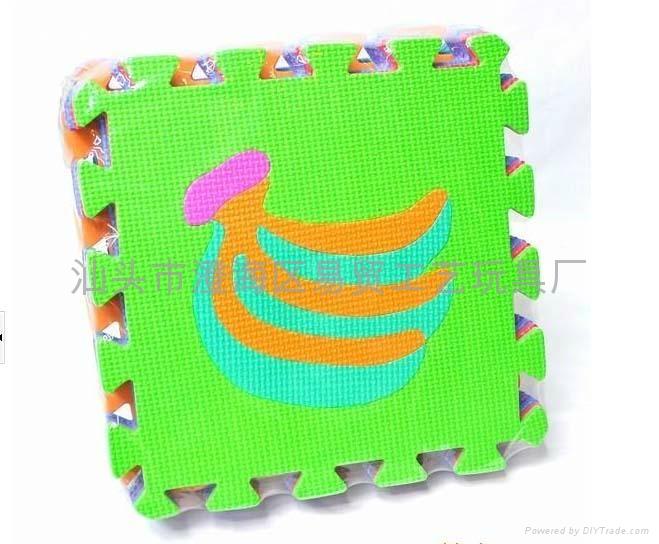 数字拼图地垫_橡塑胶防滑地垫_EVA泡沫儿童数字安全地垫 4