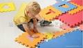 数字拼图地垫_橡塑胶防滑地垫_EVA泡沫儿童数字安全地垫 5