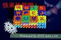 Factory Direct EVA Children's jigsaw puzzle toys alphanumeric blocks