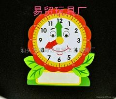 益智玩具趣味数字积木时钟