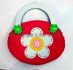 DIY puzzle toys, handmade bag