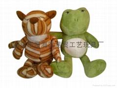 Plush animal doll wedding birthday gift