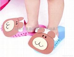 Manual DIY Bear slippers combination