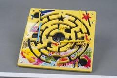 The wisdom of educational toys magnetic brush maze
