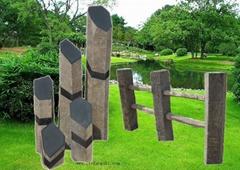 六方石風景石