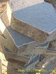 玄武岩basalt火山岩六方石地鋪