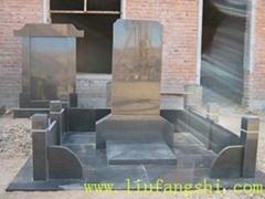 玄武岩basalt火山岩六方石墓碑产品