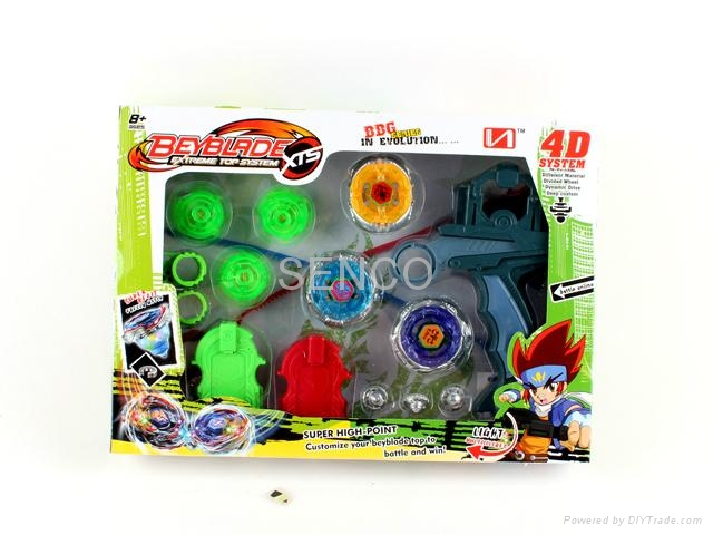 Beyblade with light and arena 5