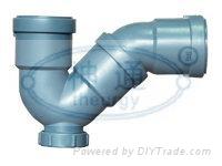 PP靜音排水管(P型存水彎)