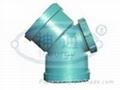 PP靜音排水管(雙擴口45度彎