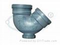 PP靜音排水管(雙擴口帶口存水