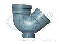 PP靜音排水管(雙擴口帶口存水彎)