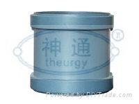 PP靜音排水管(雙擴口直通) 1