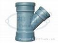 PP靜音排水管(斜三通)