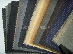 worsted woolen fabric