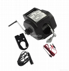 12v Electric Small Boat Winch 2000lbs
