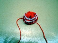 玩具毛织帽子