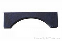 短纤维增强橡胶垫