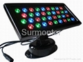 LED Wall Washer 36x1W, Square, DMX