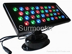 LED Wall Washer 36x1W, Square, DMX Programmable