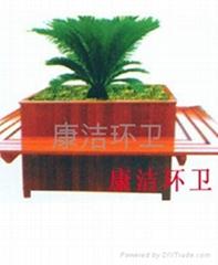 木製戶外花壇花盆