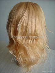 14'' indian remy hair lace wig