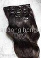 22''100g clips in hair extension