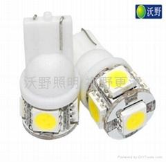 Car led bulb(T10-5050-5SMD)
